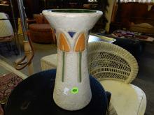 Roseville arts & crafts era pottery vase