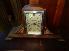 Nice art deco Manning-Bowman, electric mantle clock