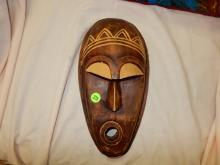 African carved mask
