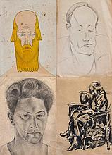 David Yakerson - 4 Works on Paper