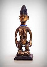 Adorned Yoruba Female Profusion Figure, Oyo,