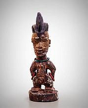 Yoruba Male Ancestor Figure, Ogbomosho, Oyo,