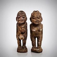 A Pair of Yoruba Male and Female Fertility