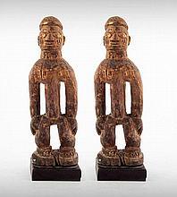 A Pair of Yoruba Male