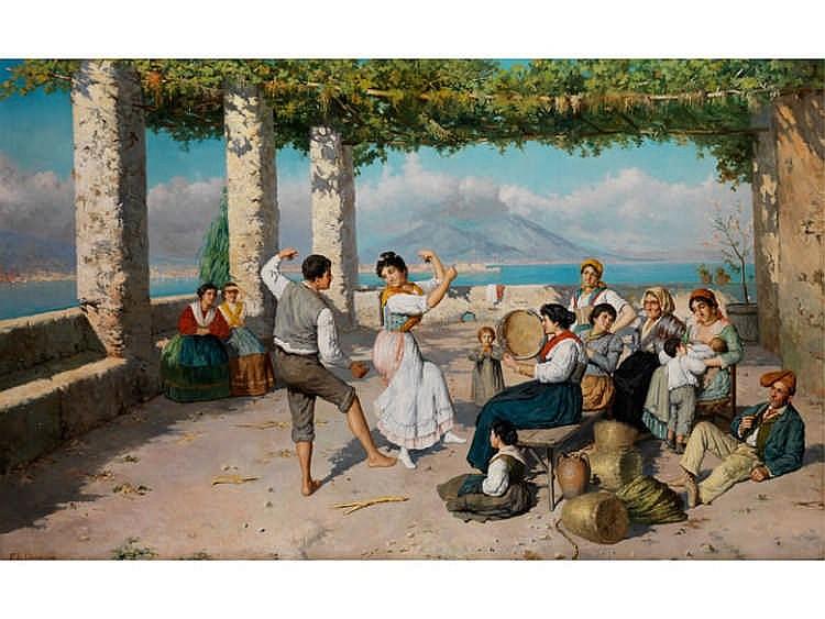 Federico Alessandro Ciappa, 1766 - um 1826, Neapolitanischer Maler des 19. Jahrhunderts