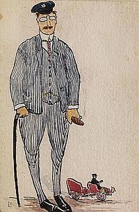 Ludwig Bock, 1886 - 1971 München, Maler der Münchner Schule