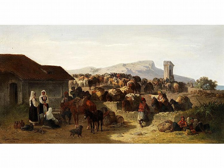 Eugen Adam, 1817 München - 1880 München