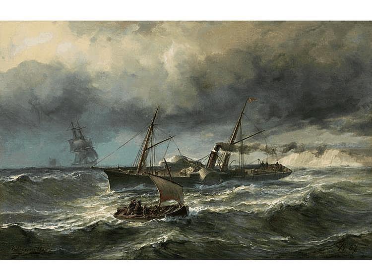 Johan Jacob Bennetter,  1822 Christiana - 1904