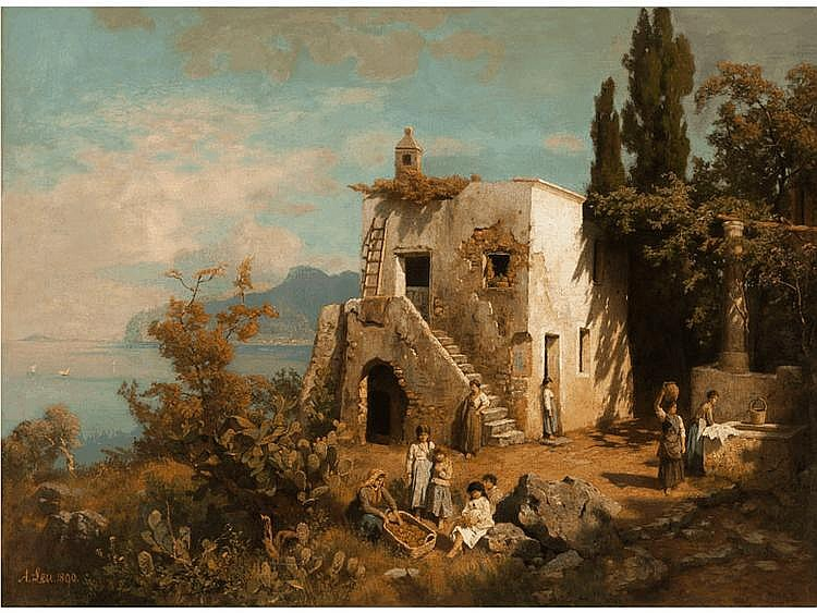 August Wilhelm Leu,  1819 - 1897