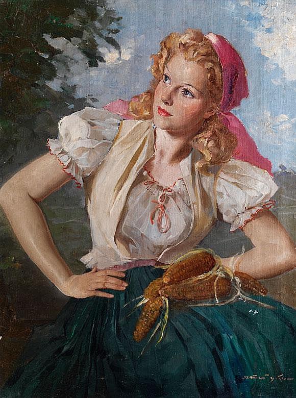 Maria Szantho,    1899 - 1984    Ungarischer Maler