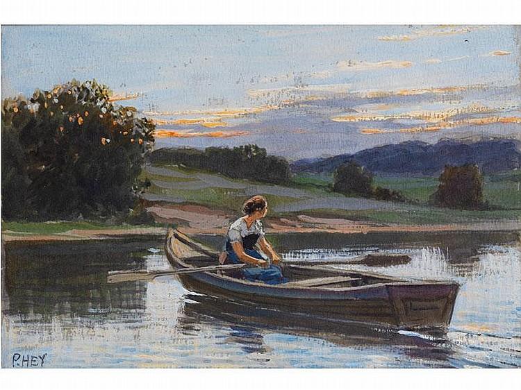 Paul Hey,  1867 München - 1952 Gauting