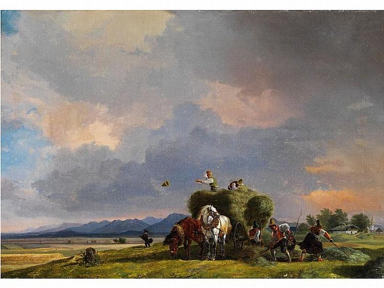 Heinrich Bürkel, 1802 Piermasens - 1869 München, zug.