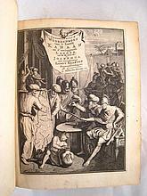 Judaica. An early 18th. c. full vellum bound Dutch