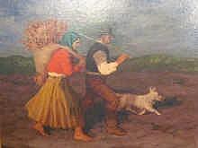 Nandor Vydai Brenner (Hungarian, born 1903): oil