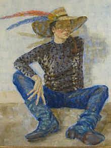 Sheila Tiffin (b. 1952) Mac's Moulting