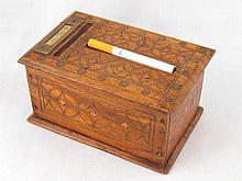An automatic cigarette dispenser, the treen box