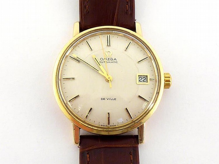 omega 9 carat gold watches