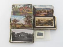 A filing box containing about two hundred early postcards of Hampstead and vicinity.