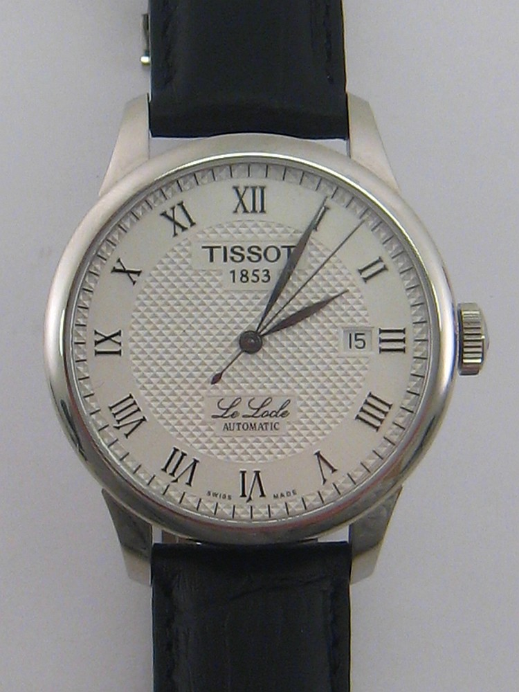 Tissot Le Locle A Gentleman 39 S Stainless Steel Automatic Wr