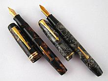A Conway Stewart model 28 fountain pen in candy