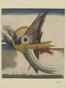 Tuvia Beeri (Israel, 1929) Abstarct lithograph,