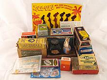 An assortment of over twenty vintage domestic
