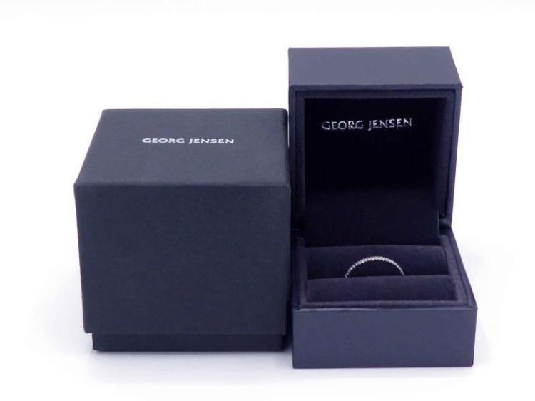 Forskjellige GEORG JENSEN, Aurora, a slim diamond and 18 carat white gold VS-44