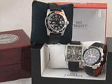 A mixed lot of Gent's wristwatches comprising a