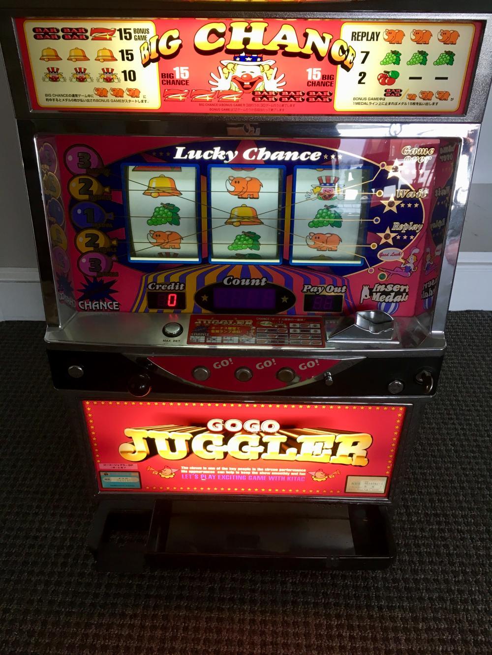 Pachislo Slot Machine Model 7777