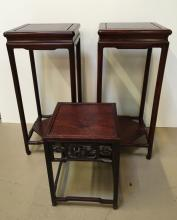 3 PCS - CHINESE TABLES & STAND