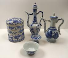 5 PCS OF ASSORTED CHINESE DECORATIVES