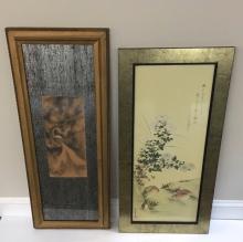 2 PCS OF ARTWORK - CHINESE INK & JAPANESE PRINT