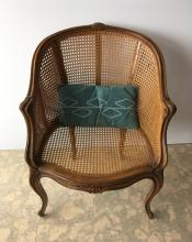 FRENCH STYLE CANED CHAIR