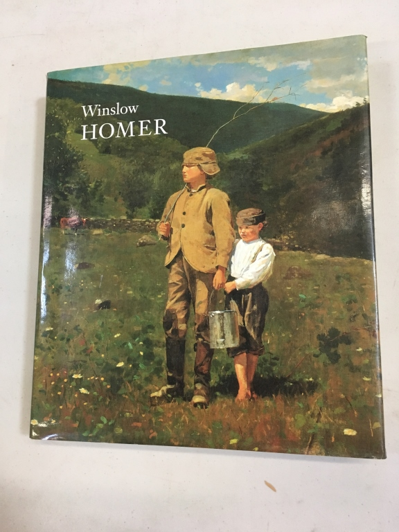WINSLOW HOMER - CATALOG TO ACCOMPANY THE RETROSPECTIVE SHOW AT THE NATIONAL GALLERY 1995-96