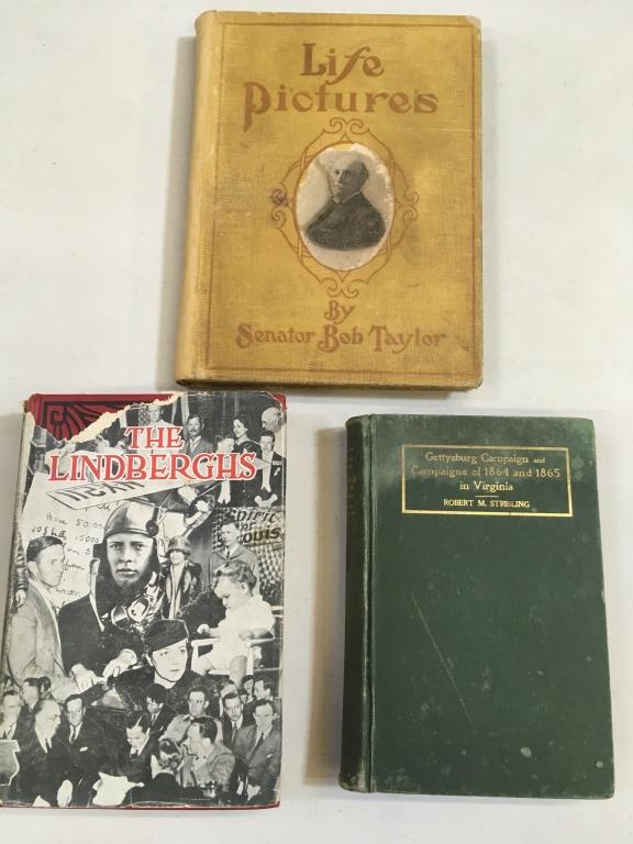 THREE BOOKS ON HISTORY