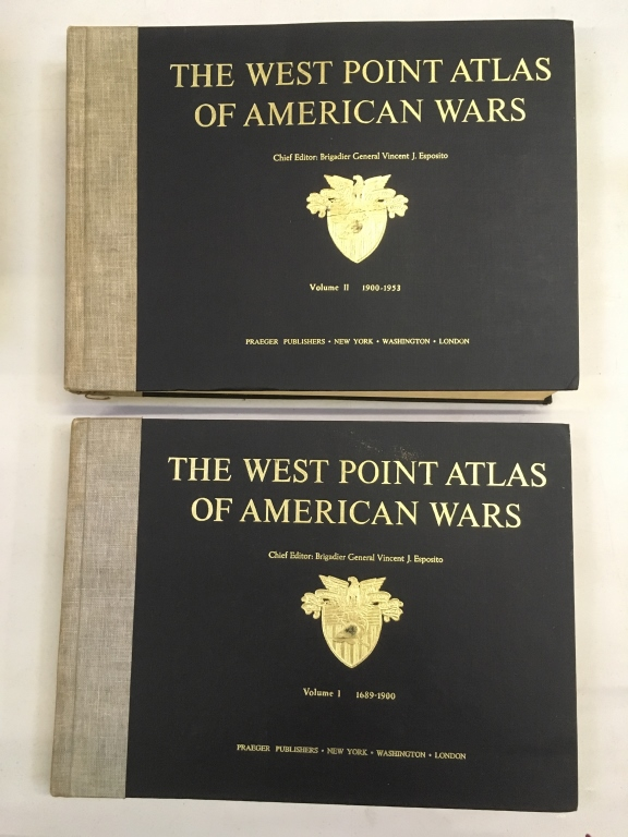 THE WEST POINT ATLAS OF AMERICAN WARS - VOLUME 1&2