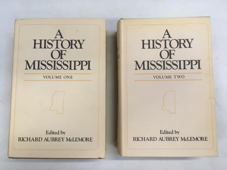FIRST ED. - THE HISTORY OF MISSISSIPPI - 2 VOLUMES