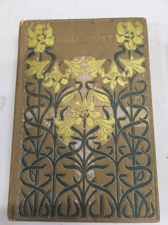 Book Cover Art And Craft : Four books with art deco arts and craft covers illustrat