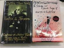 PAIR BOOKS BY/ABOUT HUNTER S. THOMPSON - FIRST EDITIONS