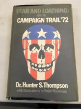 FEAR AND LOATHING ON THE CAMPAIGN TRAIL - HUNTER S. THOMPSON