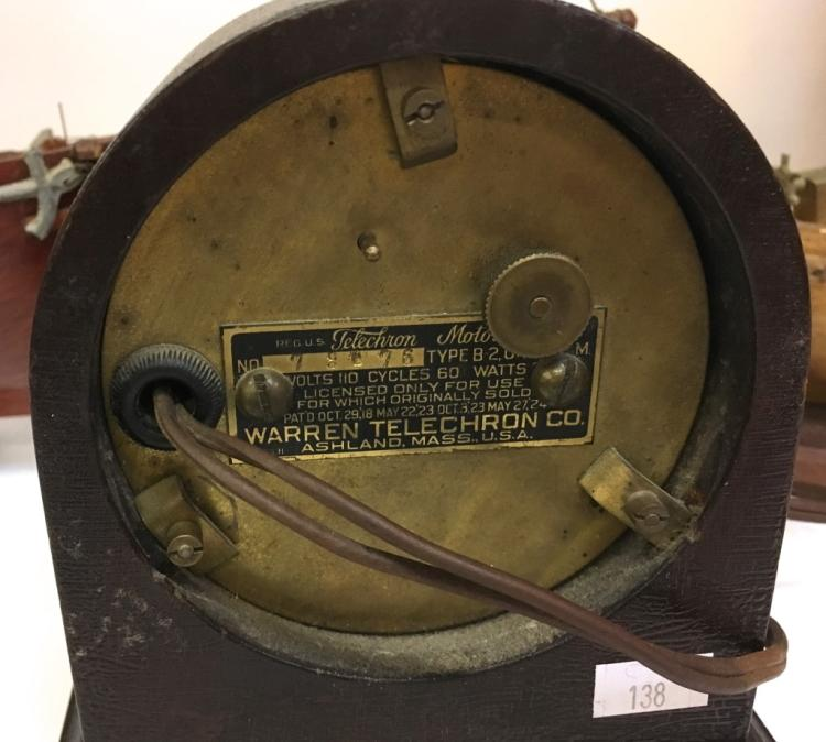22 likewise 252236491840 also Vintage Sailing Ship Models Telechron Clock 108 C 6574b08a6b also The Clock Page together with 172465730969. on telechron repair