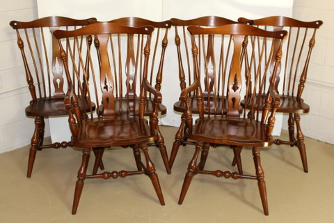 Set of six dining chairs for Furniture 4 a lot less