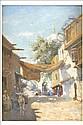 FRANK DEAN (1865 - 1946) A Sunlit Eastern street, Frank Dean, Click for value
