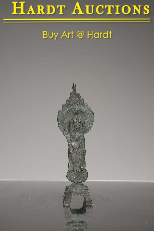 STANDING GUANYIN 观音铜像