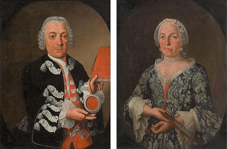 HIRSCHMANN, JOHANN BAPTIST ca. 1770 Burgkundstadt