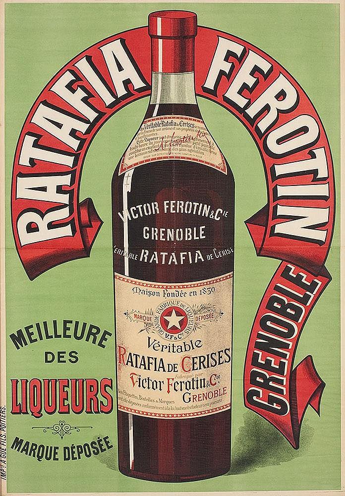 Affiche Ratafia Ferotin