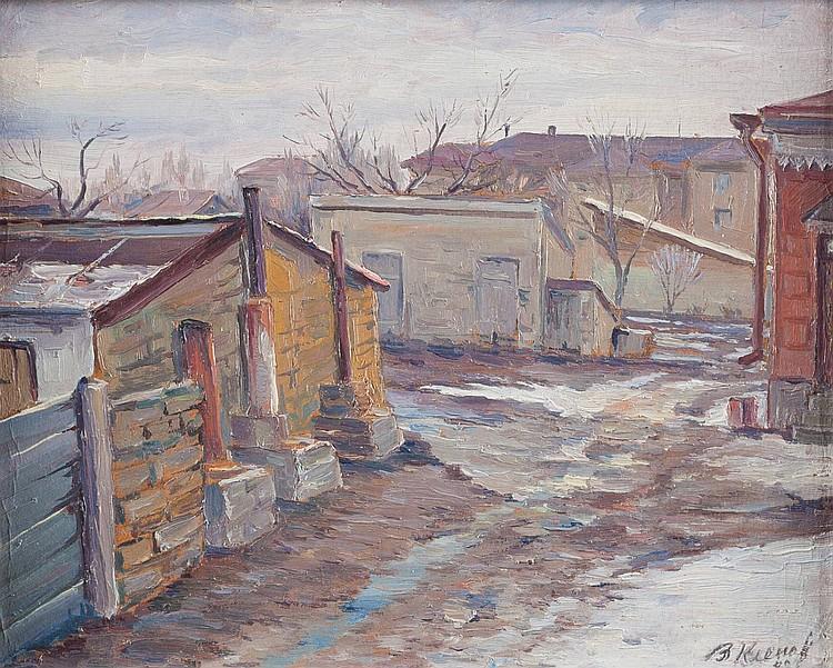VLADIMIR GRIGORIEVITCH KLENOV 1896 Nevinnomysskaja/ Kuban' - Stavropol 1986 Russian village