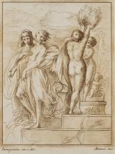 STEFANO MULINARI 1741 Florenz - 1790 ebenda (2 Stck.)