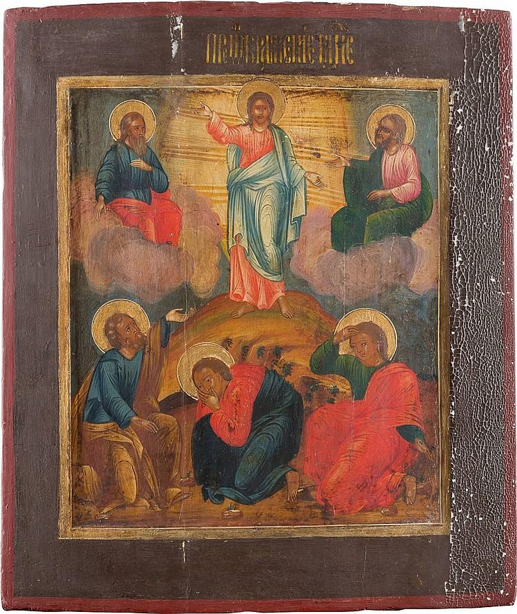 IKONE MIT DER VERKLÄRUNG CHRISTI