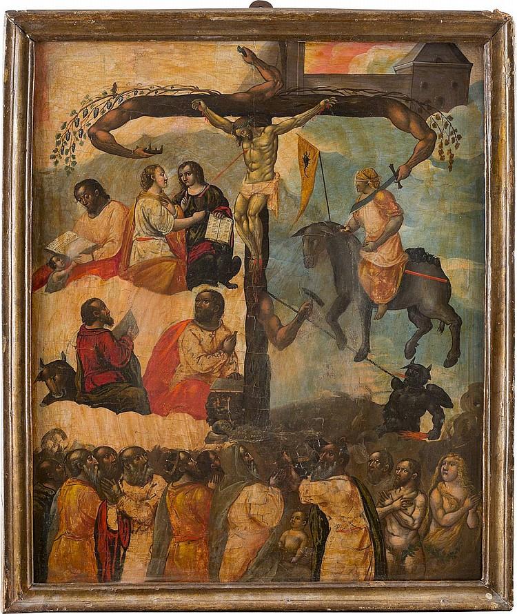 SELTENE UND MONUMENTALE IKONE: DIE FRÜCHTE DER PASSION CHRISTI